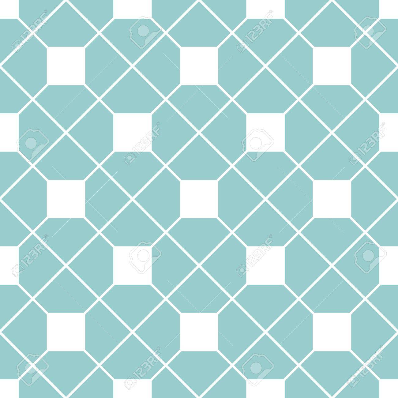 Checkered Tile Pattern Or Mint Green And White Wallpaper Background ...