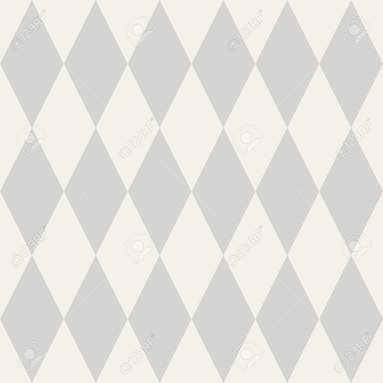 灰色と白背景の壁紙とタイルのベクトル パターンのイラスト素材