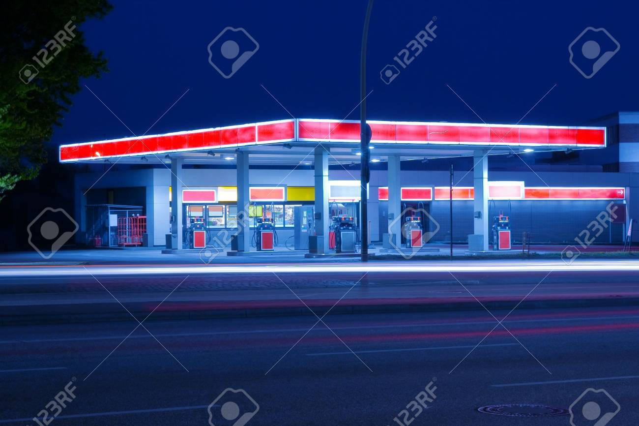 Petrol station Stock Photo - 12420469