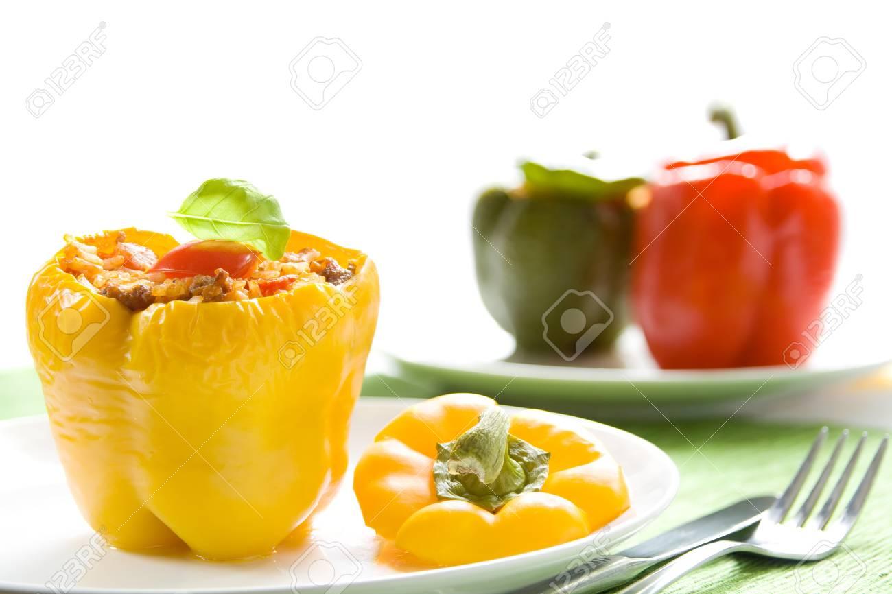 Stuffed peppers Stock Photo - 12418923