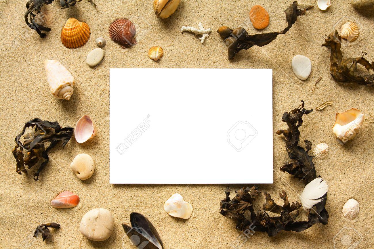 beach frame stock photo 12416734