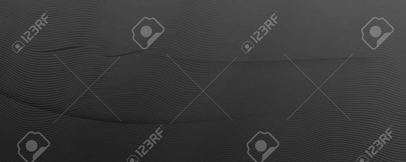 Gray Digital Background. Flow 3d Flyer. Curve Dynamic Shapes. Business Digital Background. Vibrant Brochure. Fluid Elements. Geometric Wallpaper. Digital Background. Black Illustration. - 160004865