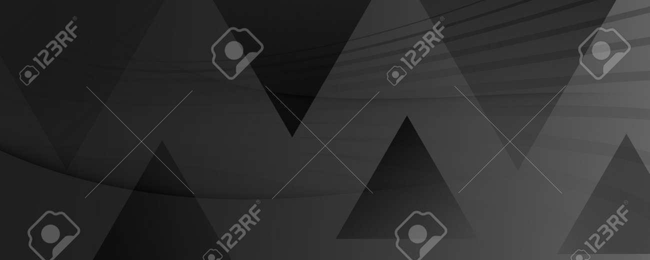 Gray Digital Background. Flow 3d Design. Color - 163020076