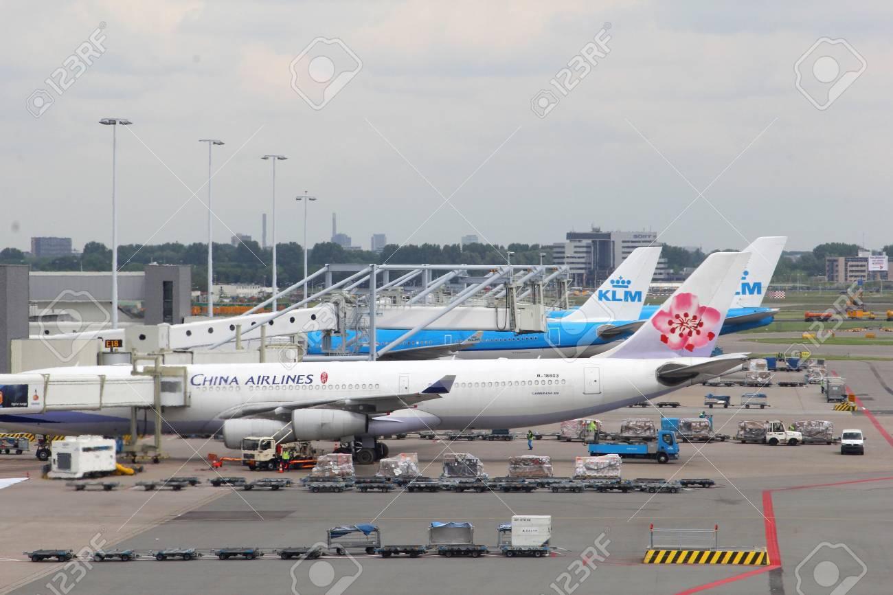 スキポール空港、オランダ、中国...