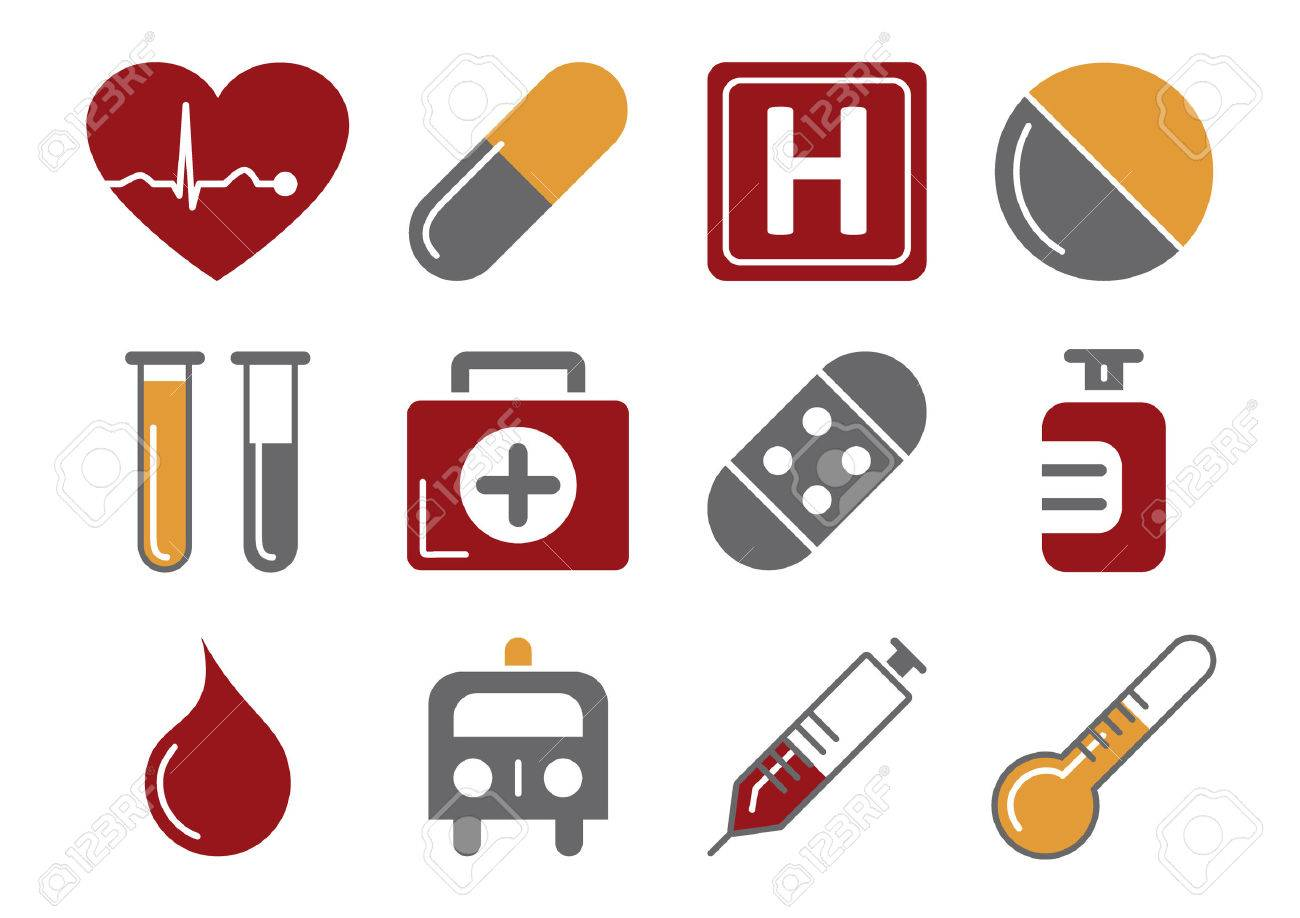 Medical Icons Stock Vector - 5957681