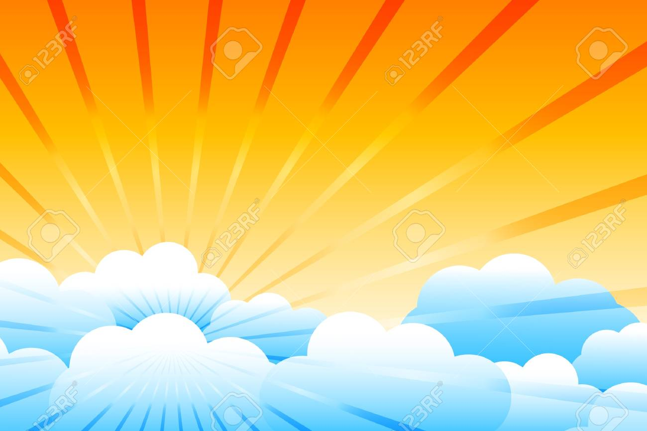 Vector sunburst Stock Vector - 9867083