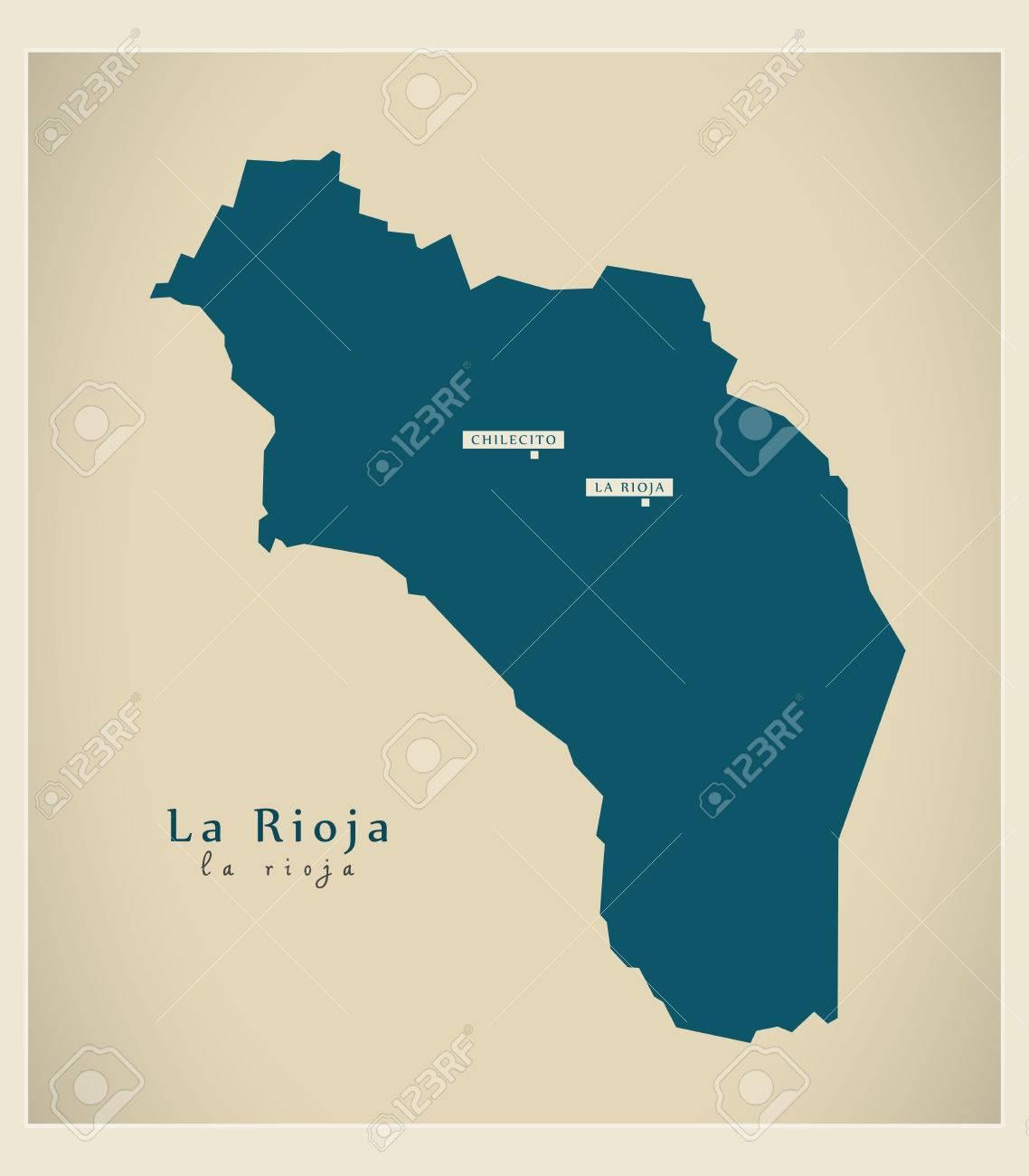Modern Map - Le Rioja AR - 63312130
