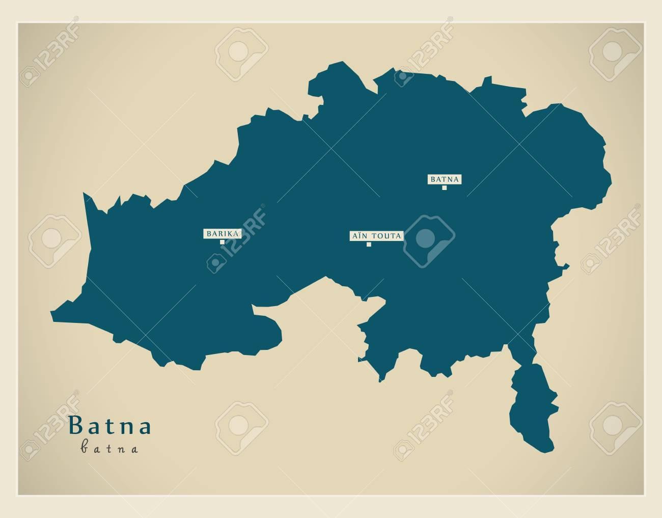 Modern Map - Batna BZ