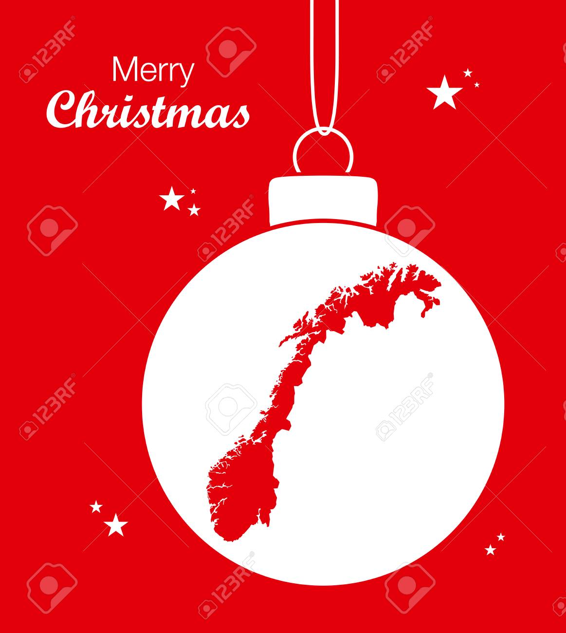 Merry Christmas In Norwegian.Merry Christmas Map Norway