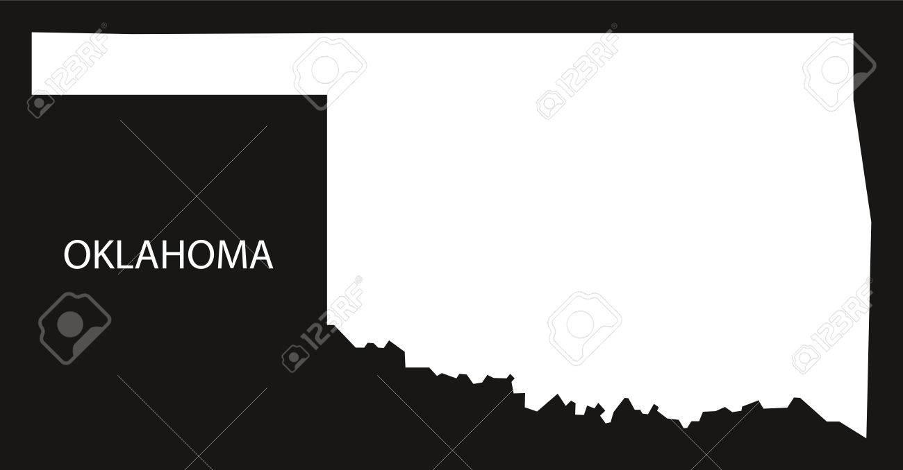 Oklahoma USA Map black inverted silhouette on usa map tampa, usa map cartoon, usa map charleston, usa map virgin islands, usa map cincinnati, usa map grand rapids, usa map guam, usa map long island, usa map wichita, usa map harrisburg, usa map seminole, usa map buffalo, usa map texas, usa map by zipcode, usa map mobile, usa map fort lauderdale, usa map nd, usa map alaska, usa map georgia, usa map santa fe,