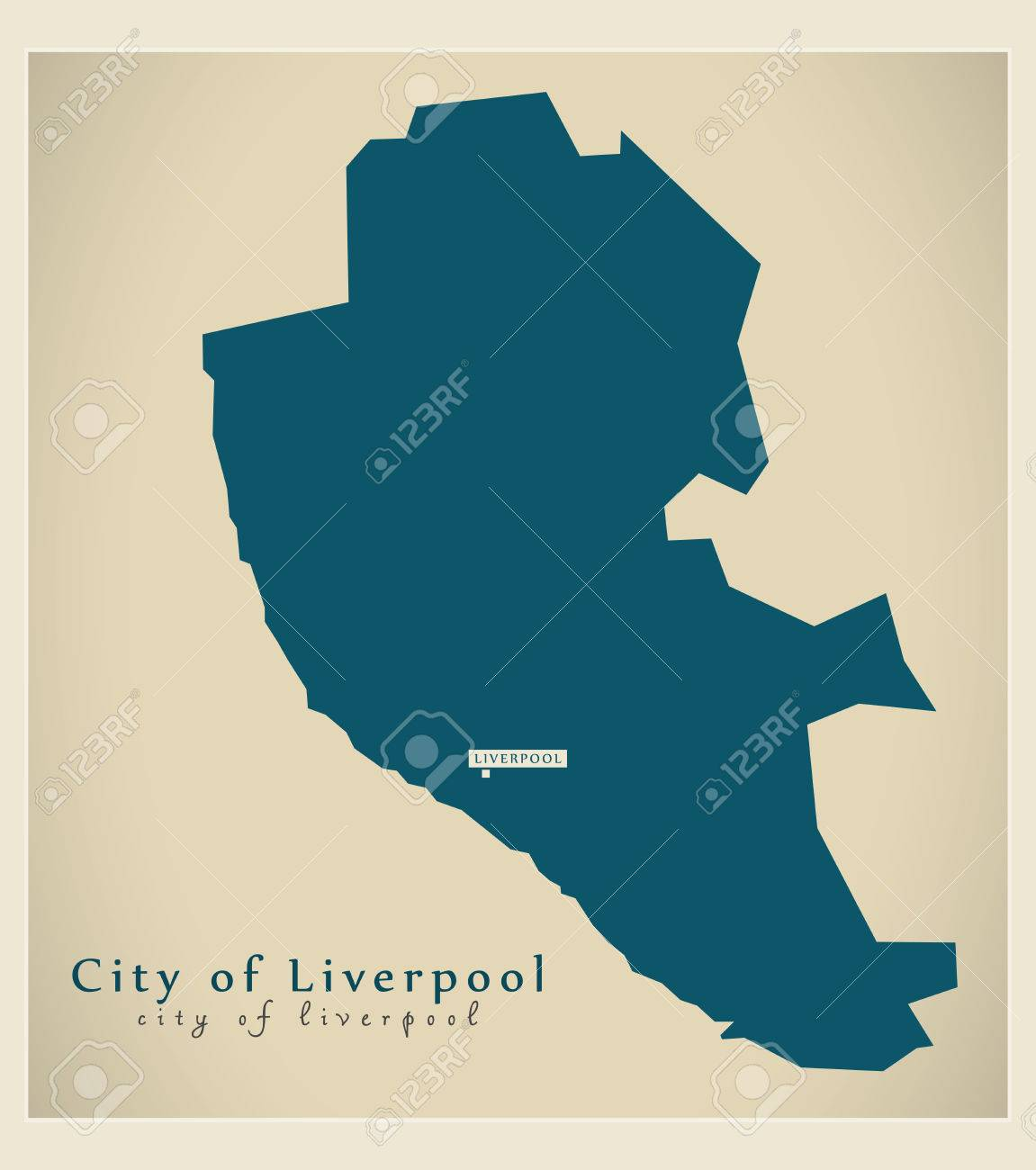 Modern map city of liverpool district of merseyside uk england modern map city of liverpool district of merseyside uk england stock vector 82518802 gumiabroncs Image collections