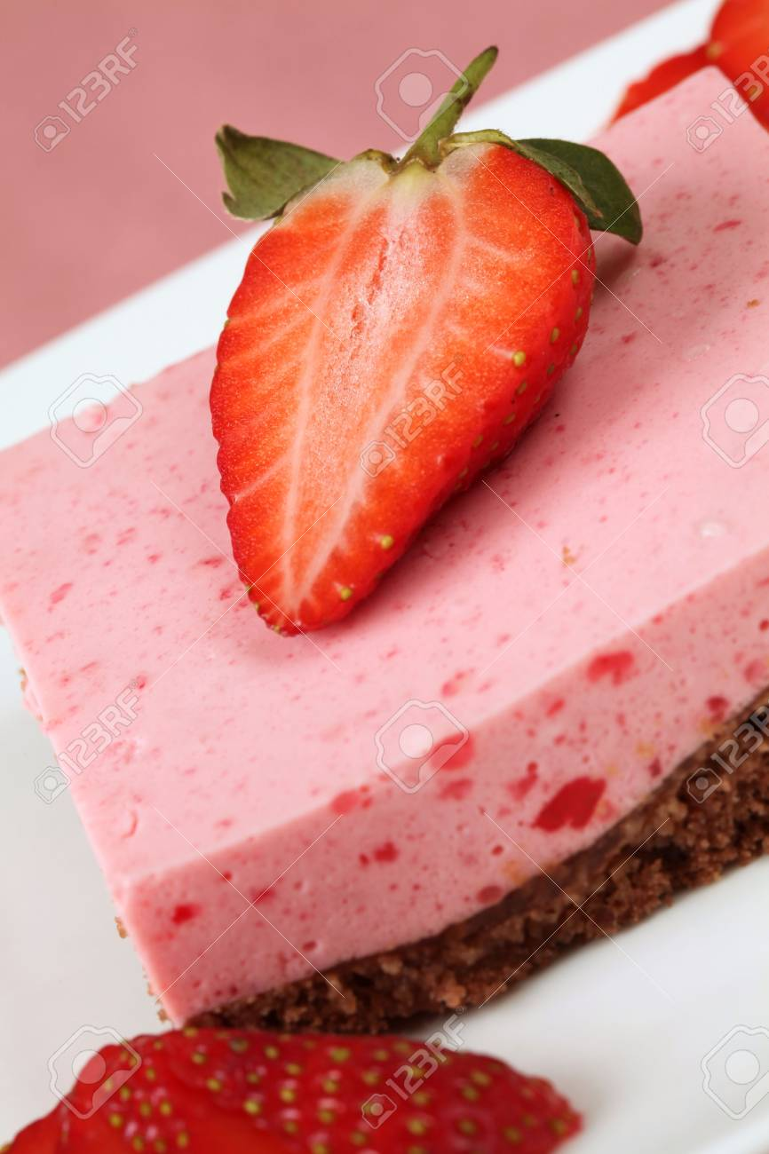 Strawberry dessert Stock Photo - 6423567