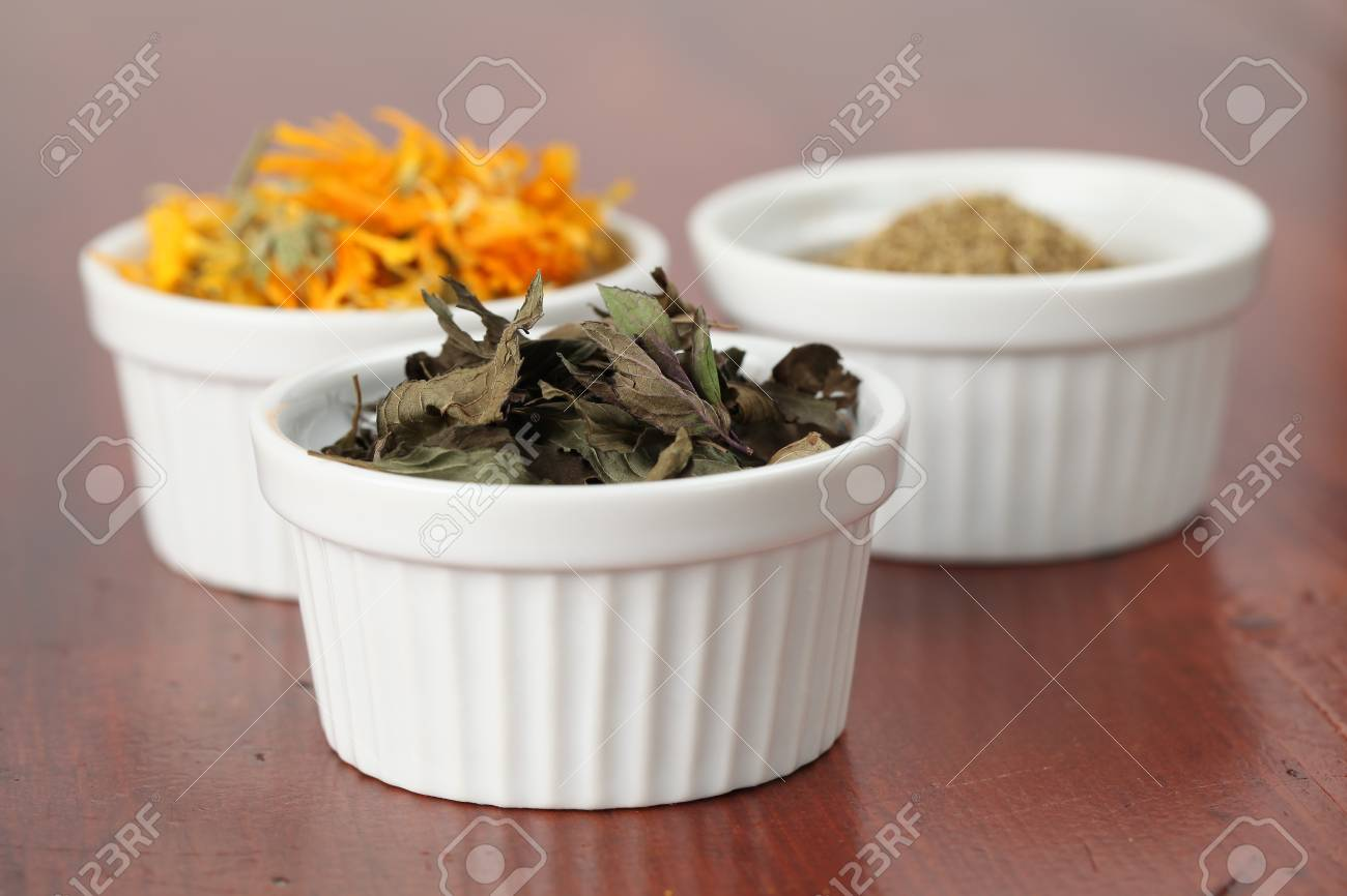 Tea collection - mint Stock Photo - 7778091