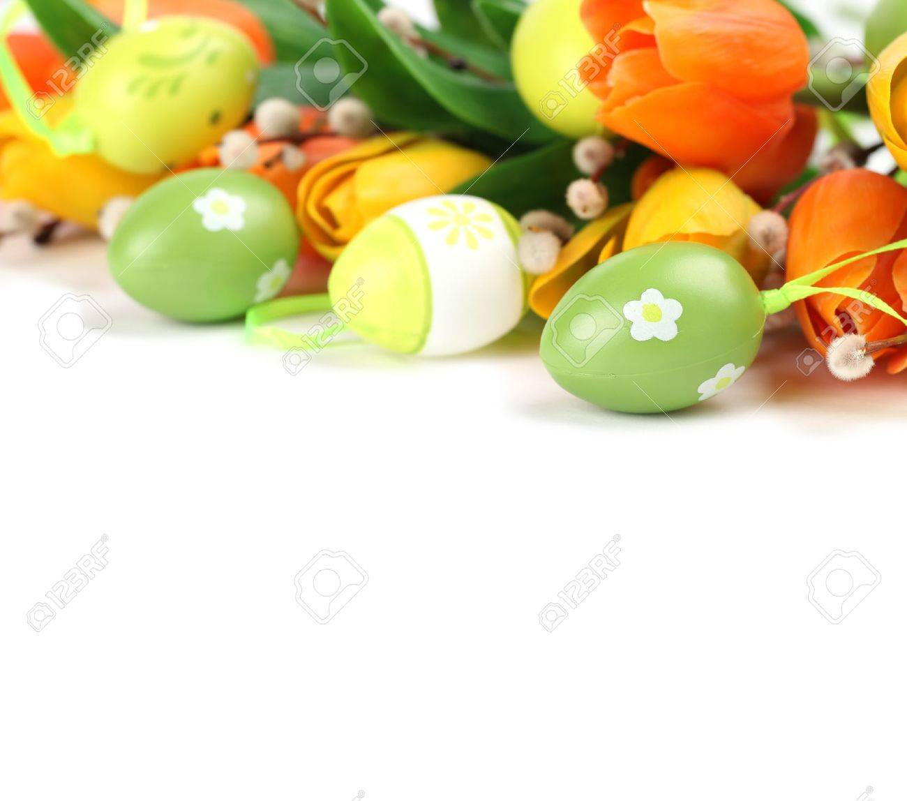 Easter border Stock Photo - 9079436