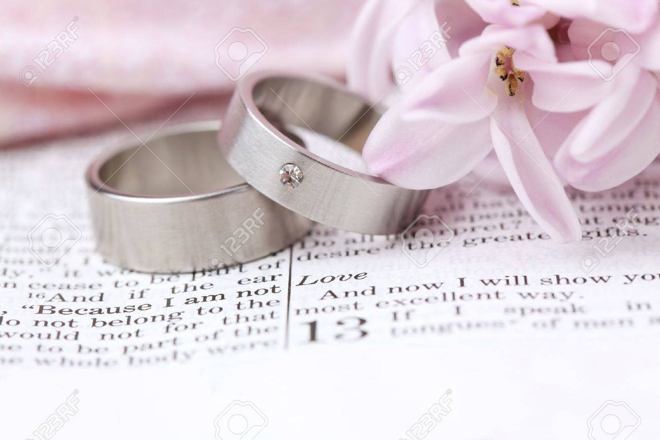 closed depositphotos rings stock photo wedding scripture bible