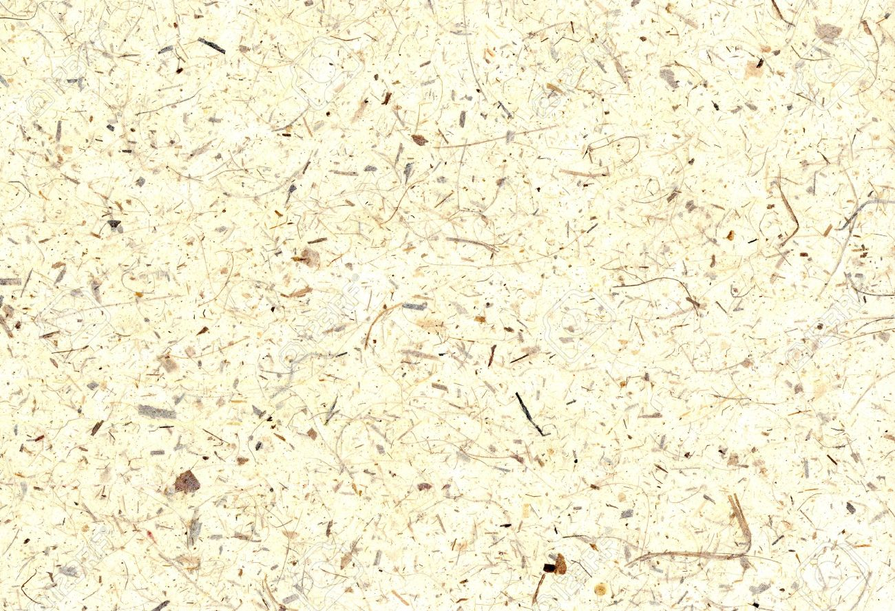 Natural banana paper made of plant fibers Standard-Bild - 10277937