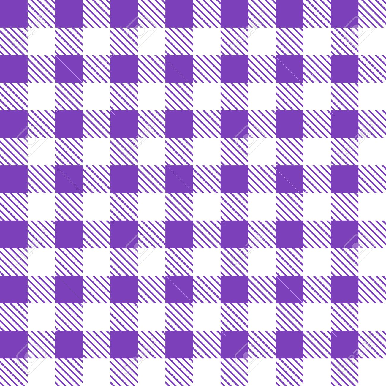 Amazing Tartan Plaid Seamless Pattern. Kitchen Checkered Purple Tablecloth Fabric  Background. Stock Vector   50643714