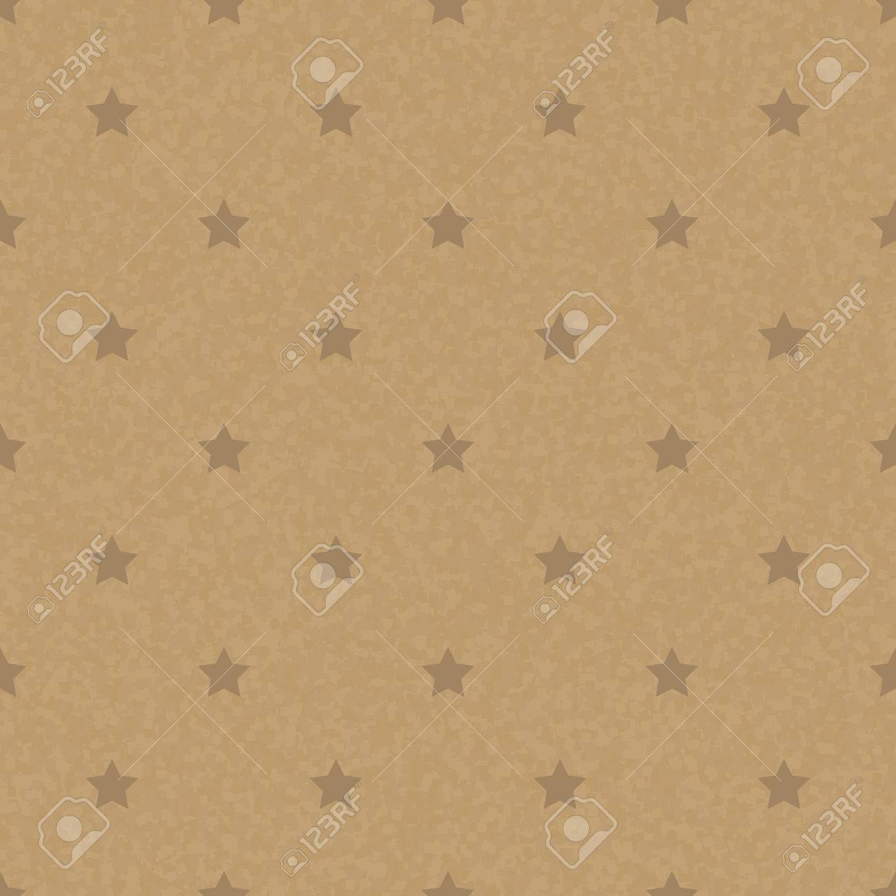 Kraft recycled paper texture vector seamless craftpaper with star kraft recycled paper texture vector seamless craftpaper with star subtle pattern overlay handmade designer jeuxipadfo Image collections