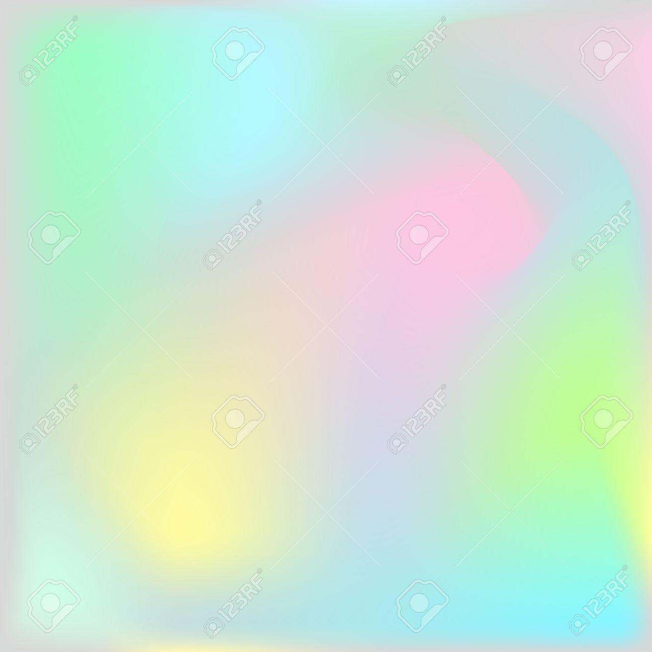 ホログラフィック テクスチャ背景 虹色に輝くホログラム ナチュラル