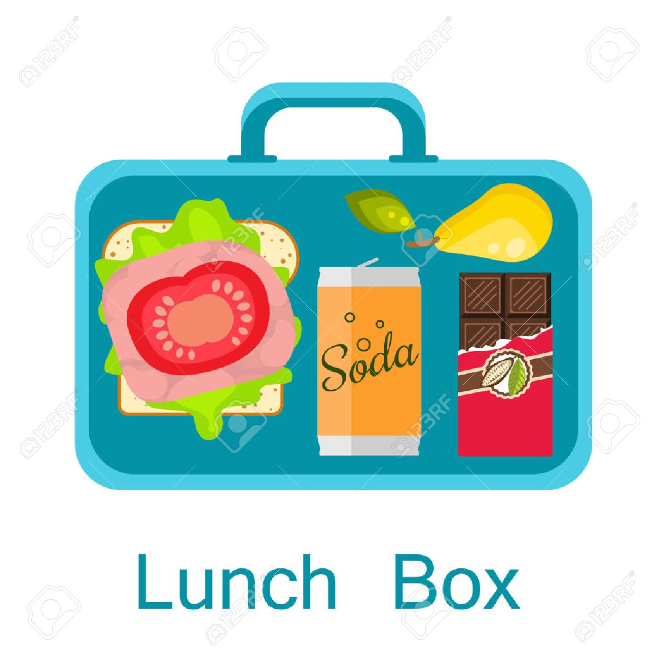 491 Packed Lunch Stock Illustrations, Cliparts And Royalty Free ...