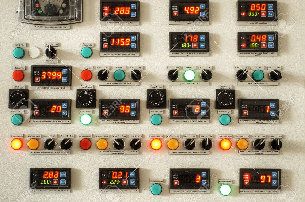 Industry Control Panel, Industry Factory Control Panel With Switches ...