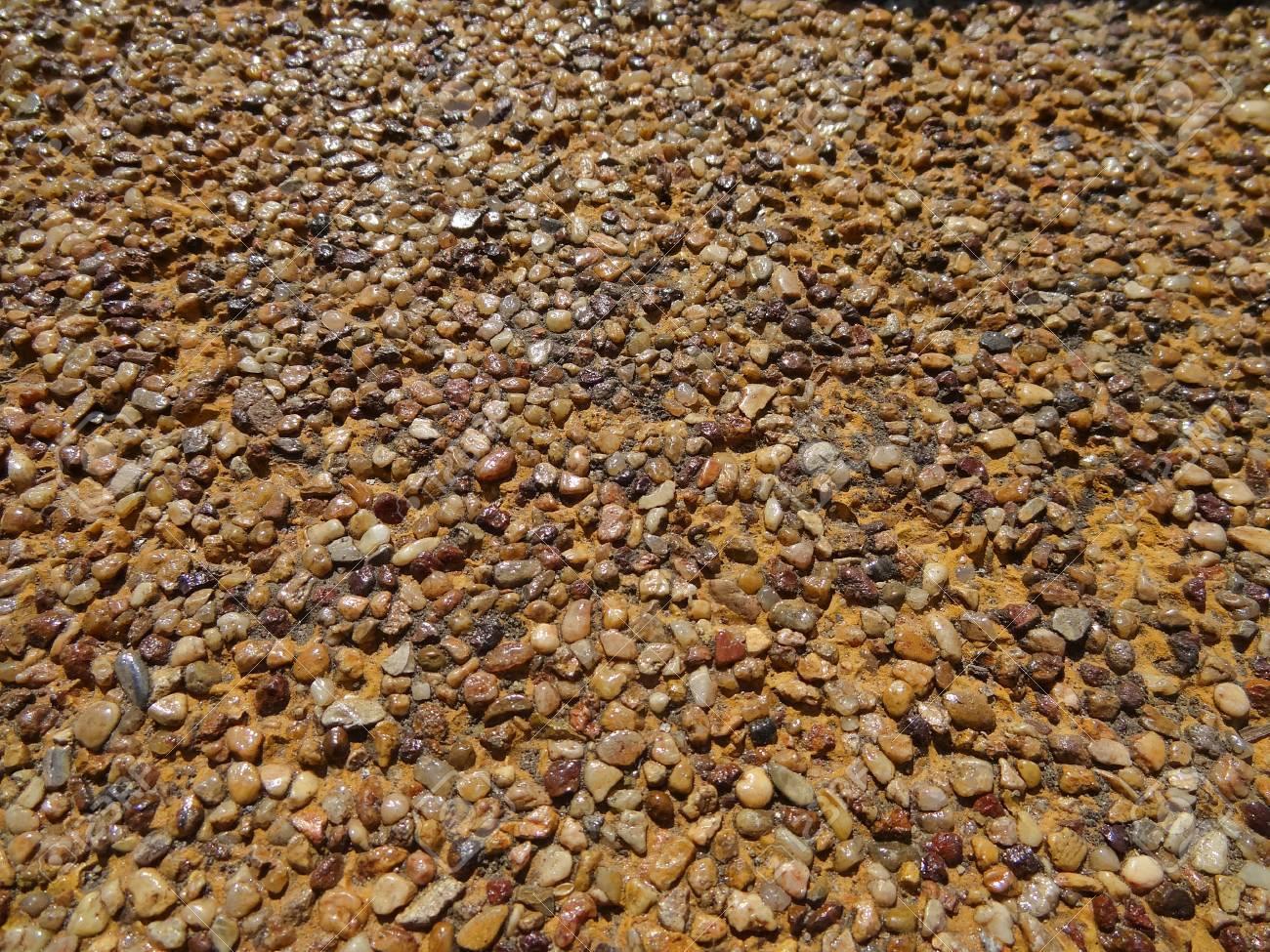 piedra natural suelo foto de archivo