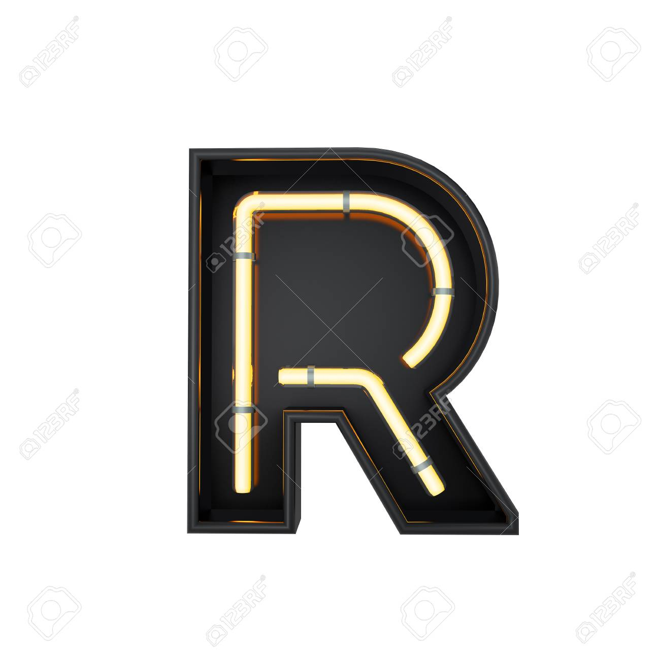 Neon style light letter r glowing neon capital letter 3d rendering neon style light letter r glowing neon capital letter 3d rendering stock photo thecheapjerseys Image collections