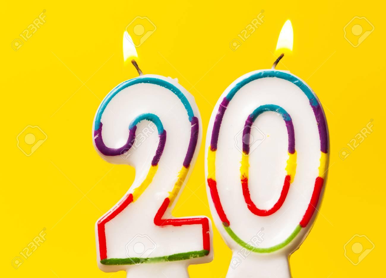 number 20 birthday