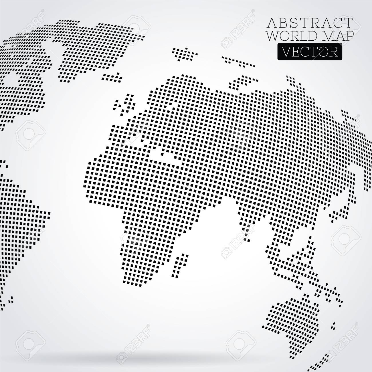 Pixel world map made from small squares royalty free cliparts pixel world map made from small squares stock vector 91822206 gumiabroncs Image collections