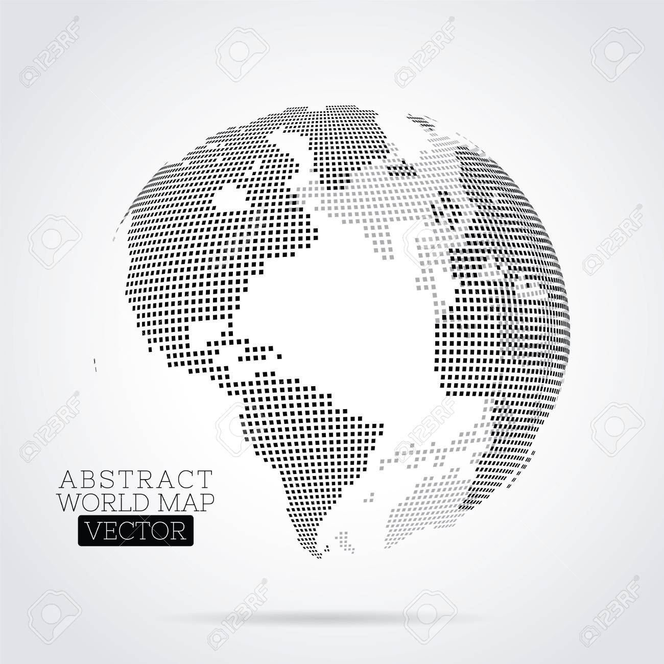 Pixel world map made from small squares royalty free cliparts pixel world map made from small squares stock vector 91822209 gumiabroncs Image collections