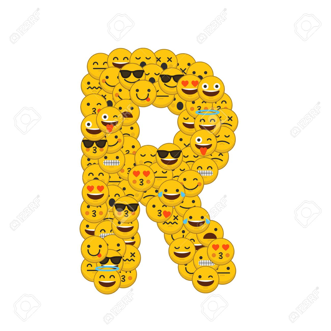 Emoji smiley characters capital letter r stock photo picture and emoji smiley characters capital letter r stock photo 93223599 altavistaventures Image collections