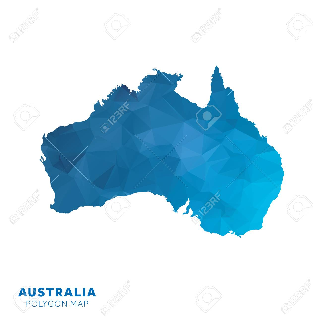 Picture Of Australia Map on