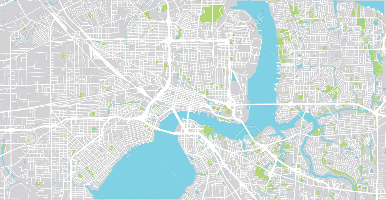 City Map Of United States on