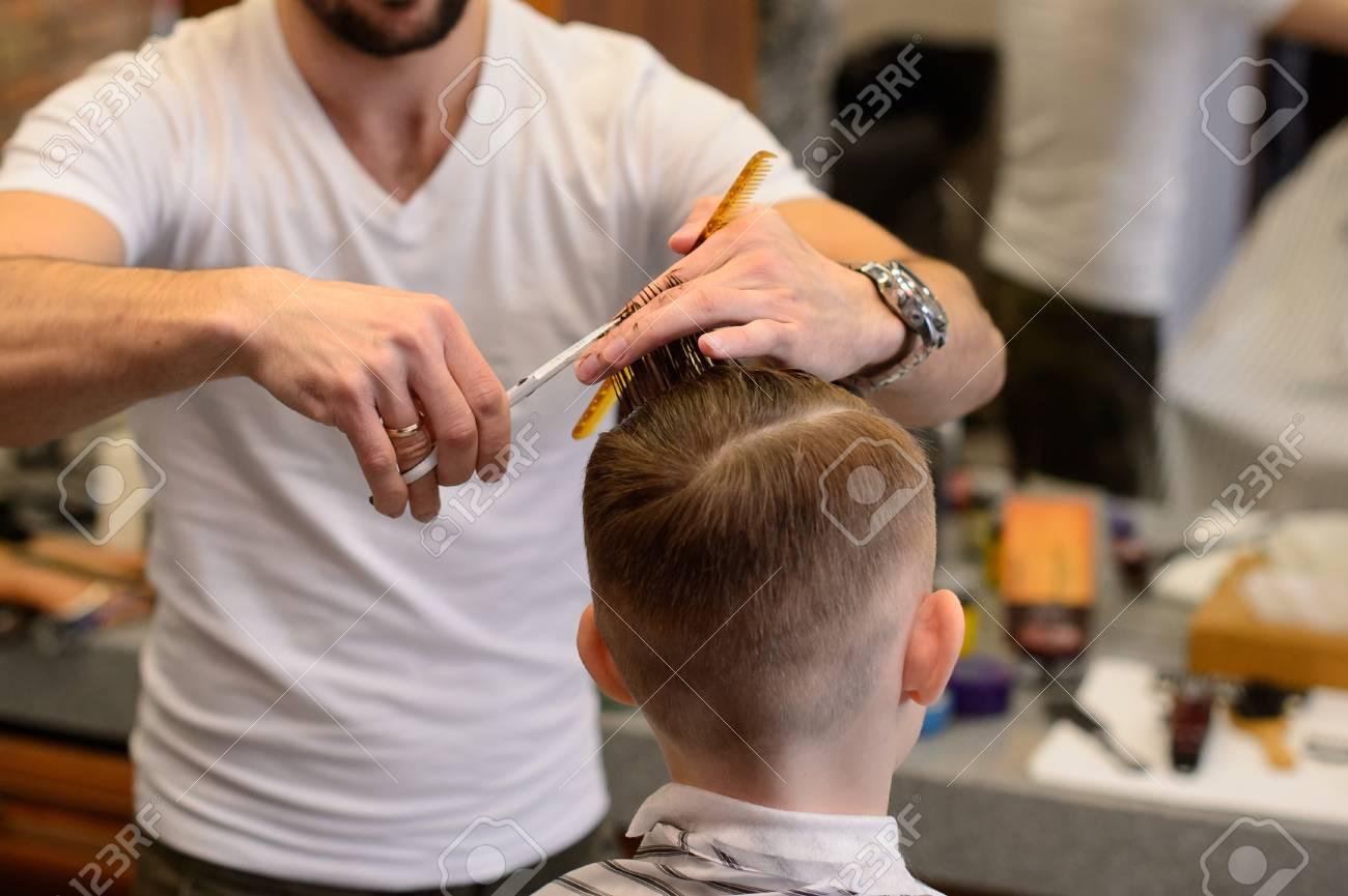 Getting A Haircut 10