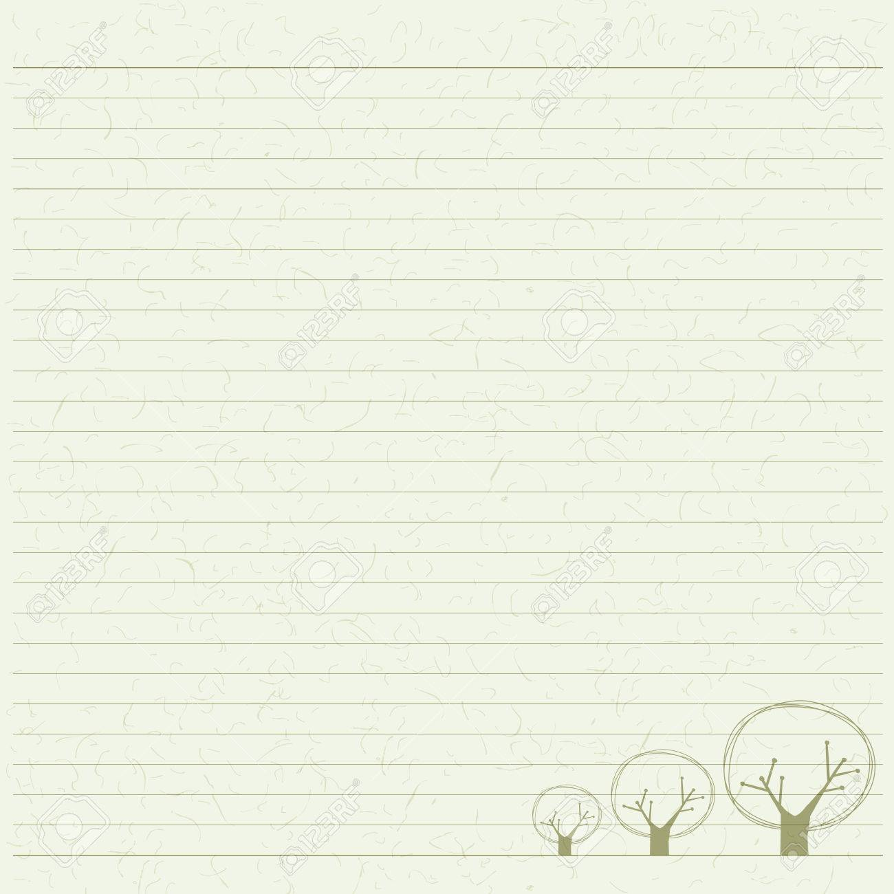 tree letter paper paper texture based on wood sketch royalty free