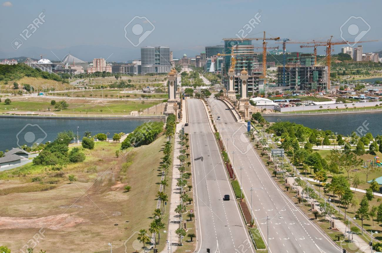 View from the International Convention Centre in Putrajaya, Malaysia. Stock Photo - 11710249