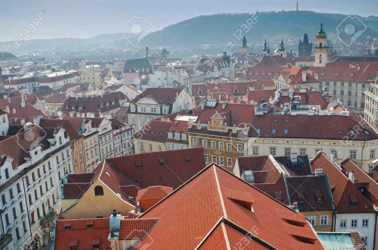Roofs of Prague, Czech Republic. Stock Photo - 11806002