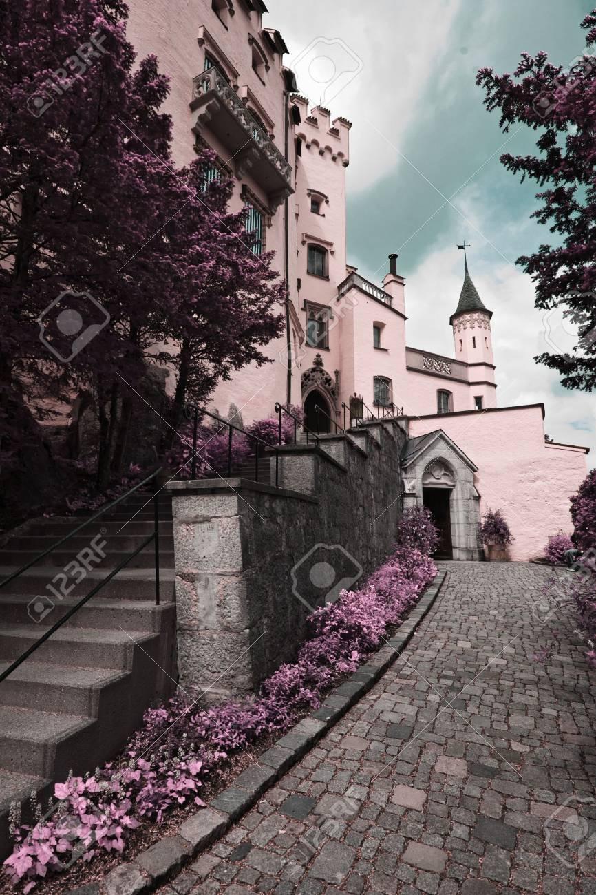 Famous Hohenschwangau Castle, Bavaria, Germany Stock Photo - 12994160