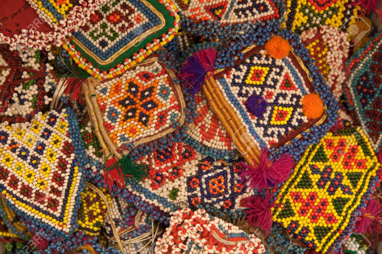 Traditional Turkish Handmade Gift Items Istanbul Bazaar Stock Photo