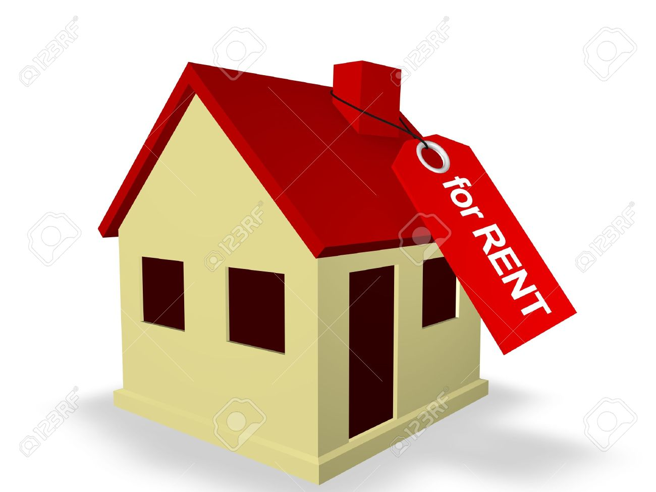 House for Rent Stock Photo - 8205538