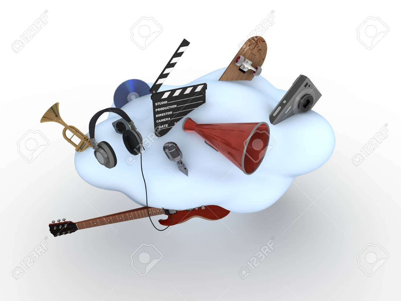 Cloud Computing Concept Stock Photo - 9387876