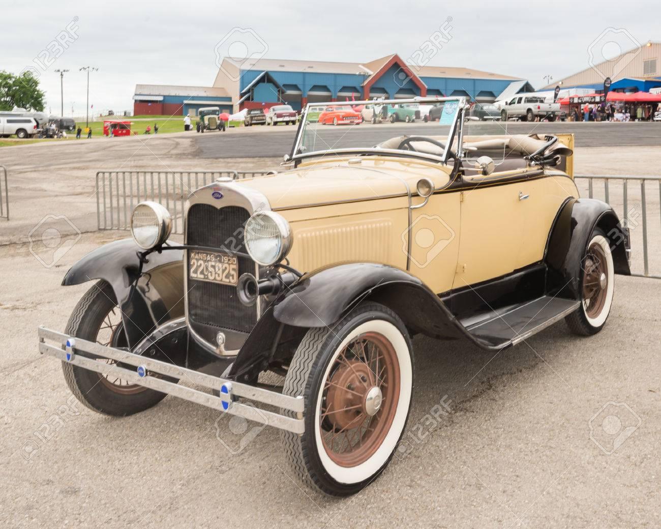 AUSTIN, TXUSA - April 17, 2015: A 1930 Ford Model A Car At The ...