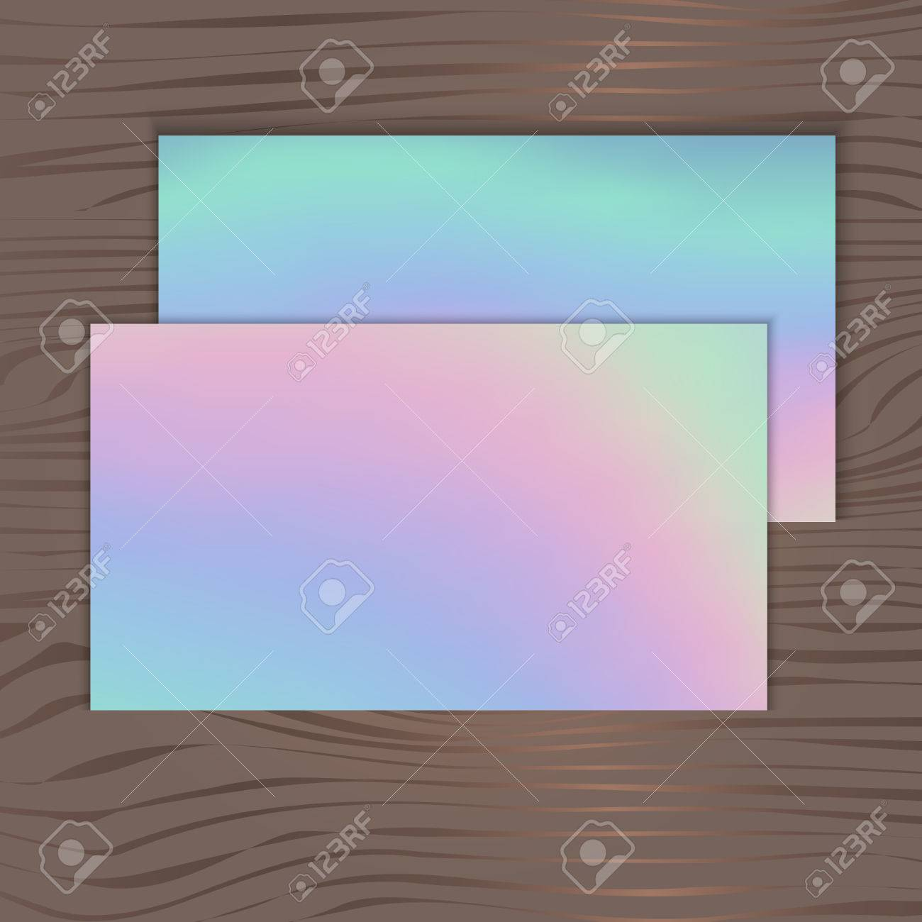 Holographic background for business cards on a wooden background holographic background for business cards on a wooden background stock vector 68632941 colourmoves