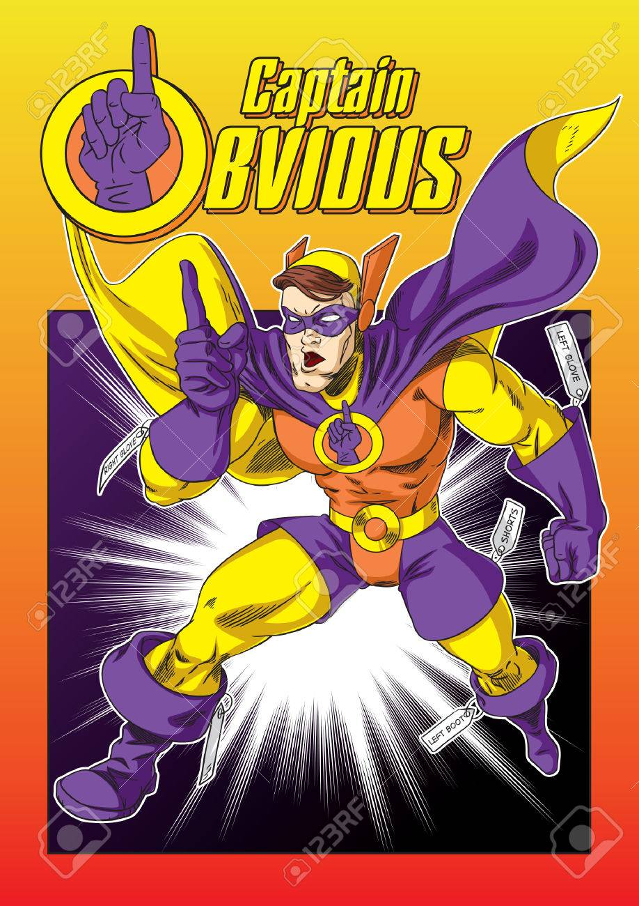 Captain Obvious - 55052926