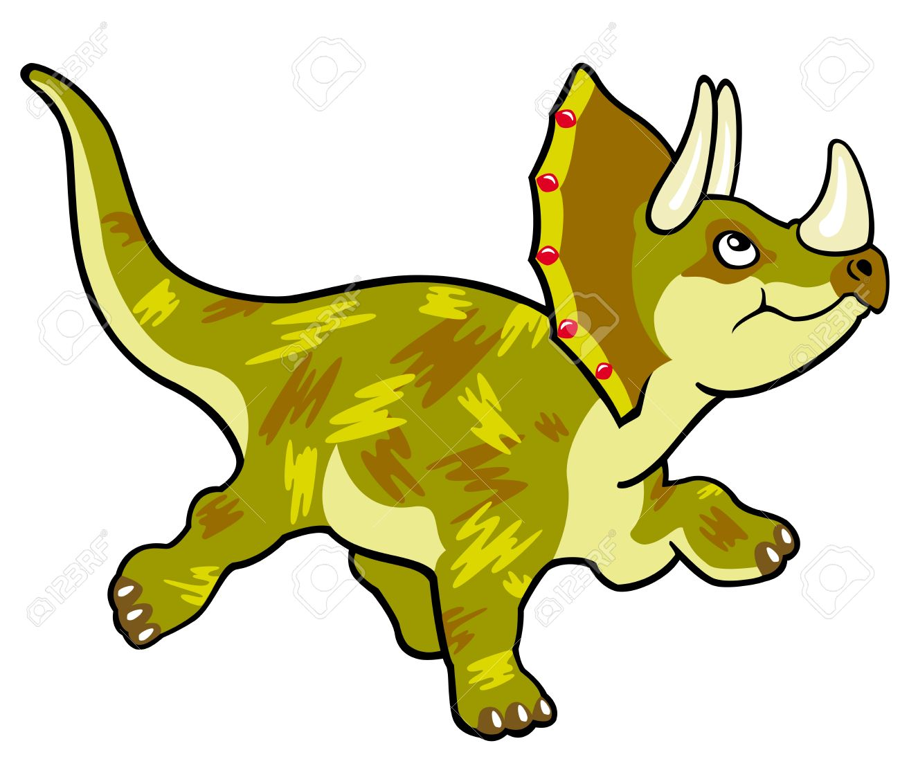 Uncategorized Dinosaur Pictures For Kids cartoon dinosaur triceratopsvector picture isolated on white background children illustrationimage for