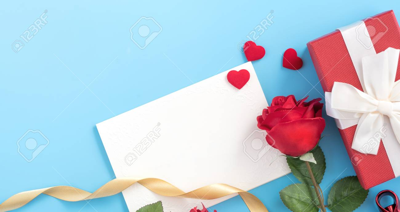Beautiful Greeting Invitation Card Concept Of Mother Day Valentine