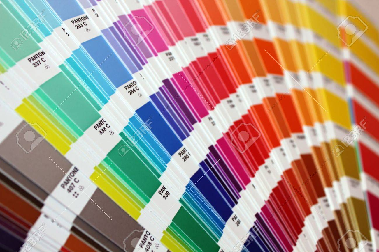 Color Guide: Pantone Colours Stock Photo, Picture And Royalty Free ...