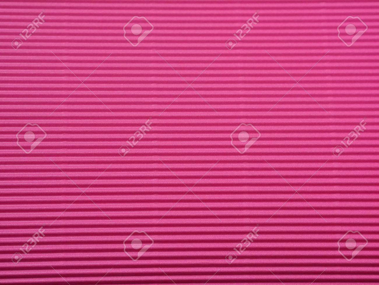 Bright Pink Corrugated Paper Stock Photo - 21217473