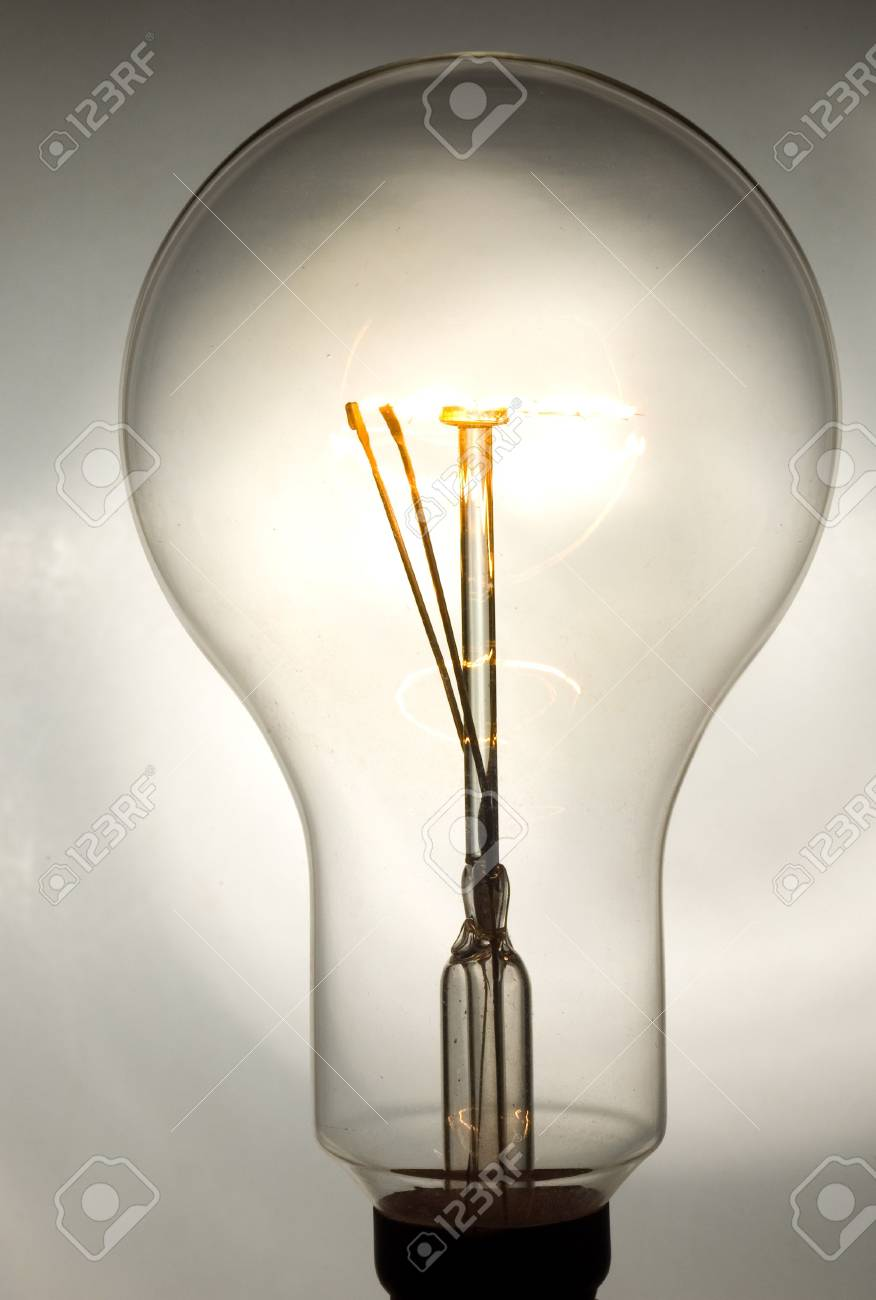 lightbulb closeup Stock Photo - 2065511