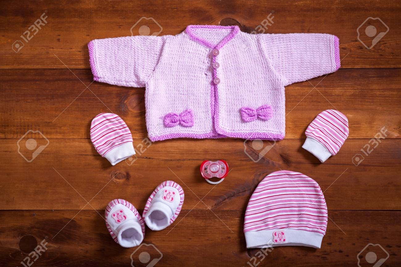 Purple Wool Toddler Jumper Knitted Baby Clothes
